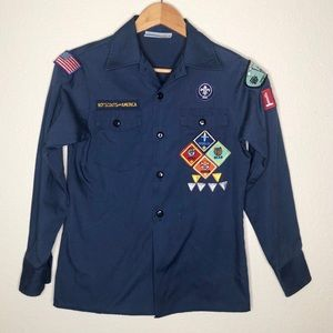 Boy Scouts Of America Cub Scout Youth Shirt Size M